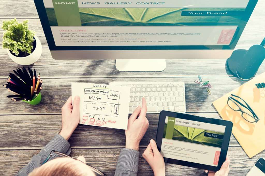 website designer web consulting agency